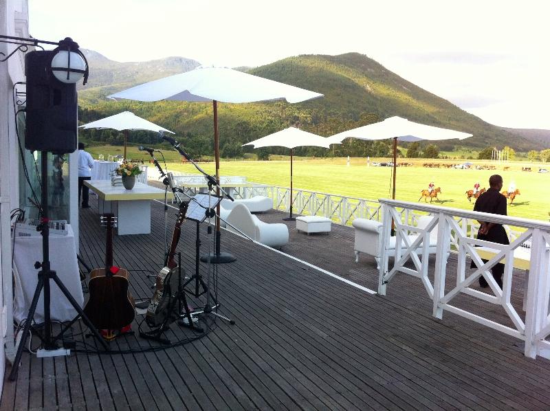 Pre-drinks set up at Kurland
