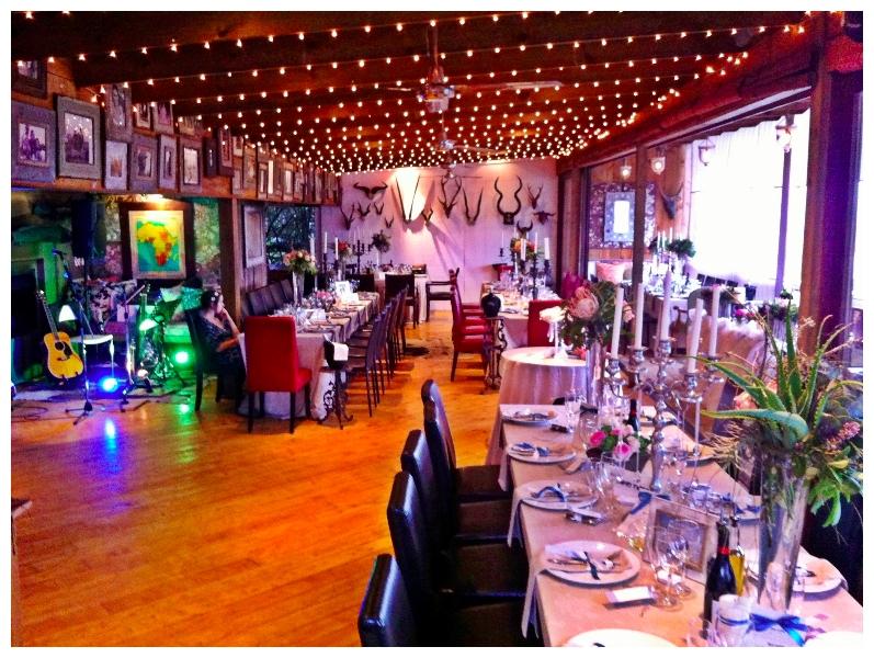 Reception venue at Emily Moon